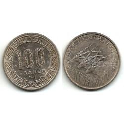(8) Estados África Central. 1978. 100 Francs (MBC)