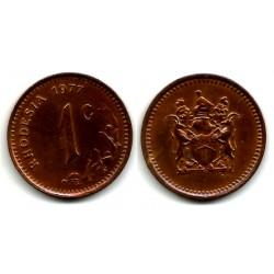 (10) Rhodesia. 1977. 1 Cent (EBC+)