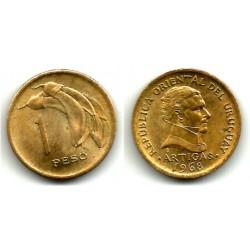 (49) Uruguay. 1968. 1 Peso (MBC+)