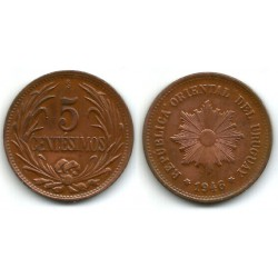 (21a) Uruguay. 1946. 5 Centesimos (EBC)