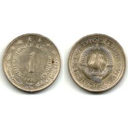 (59) Yugoslavia. 1976. 1 Dinar (MBC)