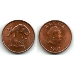 (9a) Zambia. 1983. 1 Ngwee (MBC)