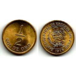 (265) Perú. 1976. ½ Sol de Oro (MBC)