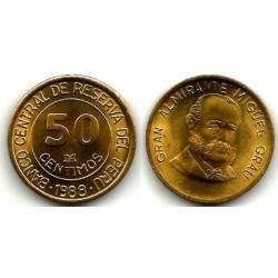 (298) Perú. 1988. 50 Céntimos (SC)