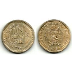 (308.1) Perú. 1994. 1 Nuevo Sol (BC+)