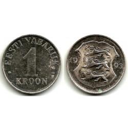(28) Estonia. 1993. 1 Kroon (MBC)