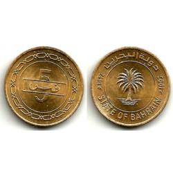 (16) Bahrain. 1992. 5 Fils (SC)