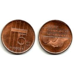 (202) Paises Bajos. 1992. 5 Cents (MBC)