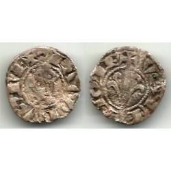 Jaime I. 1238-78. Dinero (RC+) Ceca de Valencia