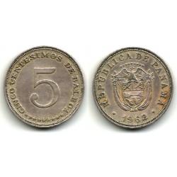 (23.2) Panamá. 1962. 5 Centesimos (MBC)