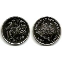 (31) Trinidad y Tobago. 2006. 10 Cents (SC)
