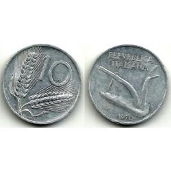 (93) Italia. 1970(R). 10 Lira (MBC)