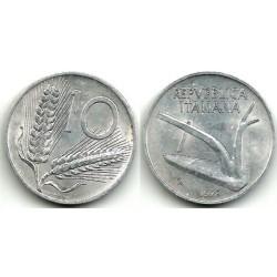(93) Italia. 1973(R). 10 Lira (EBC)