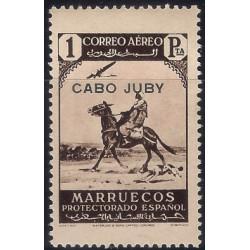 (C7) Cabo Juby. 1938. 1 Peseta (Nuevo)