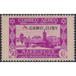 (C5) Cabo Juby. 1938. 50 Céntimos (Nuevo)
