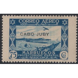 (C6) Cabo Juby. 1938. 75 Céntimos (Nuevo)