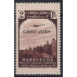 (C9) Cabo Juby. 1938. 2 Pesetas (Nuevo)