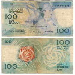 (179e) Portugal. 1988. 100 Escudos (BC)