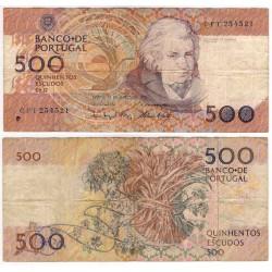 (180e) Portugal. 1993. 500 Escudos (BC) Peq. Rotura Margen Sup.