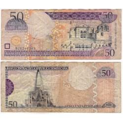 (170a) República Dominicana. 2003. 50 Pesos Oro (BC)