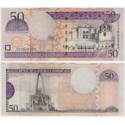 (170a) República Dominicana. 2003. 50 Pesos Oro (EBC)