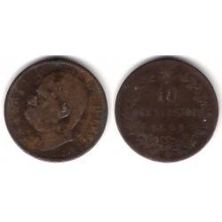 (27.1) Italia. 1894(B/I). 10 Centesimi (BC)