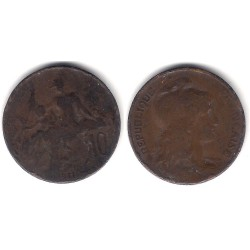 (843) Francia. 1911. 10 Centimes (RC+)