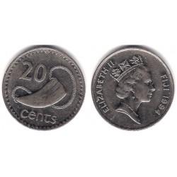 (53a) Islas Fiji. 1994. 20 Cents (MBC)