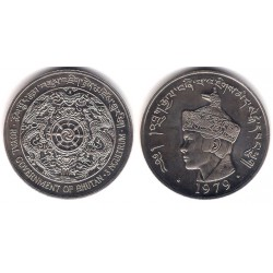 (50) Bhutan. 1979. 3 Ngultrum (SC)