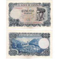 Estado Español. 1971. 500 Pesetas (SC-) Serie P