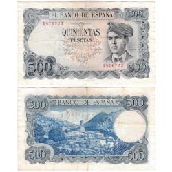 Estado Español. 1971. 500 Pesetas (MBC-) Sin Serie