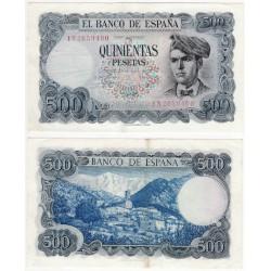 Estado Español. 1971. 500 Pesetas (MBC+) Serie 1N