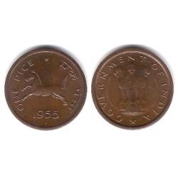 (1.4) India. 1955. 1 Pice (SC)