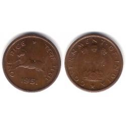 (1.3) India. 1951. 1 PIce (SC)