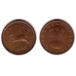 (1.4) India. 1953. 1 Pice (SC)