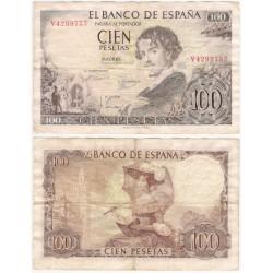 Estado Español. 1965. 100 Pesetas (BC) Serie V