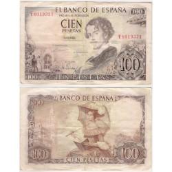 Estado Español. 1965. 100 Pesetas (BC) Serie Y