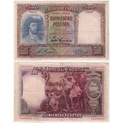 España. 1931. 500 Pesetas (MBC) Sin Serie