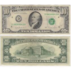 (470a) Estados Unidos de América. 1981. 10 Dollars (MBC)