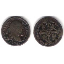 Carlos III. 1778. 2 Maravedi (BC) Ceca de Segovia