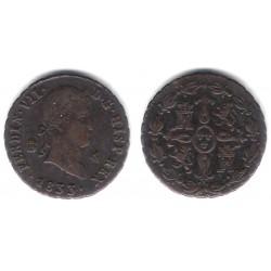 Fernando VII. 1833. 4 Maravedi (EBC) Ceca de Segovia