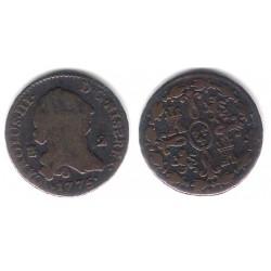Carlos III. 1775. 2 Maravedi (BC) Ceca de Segovia