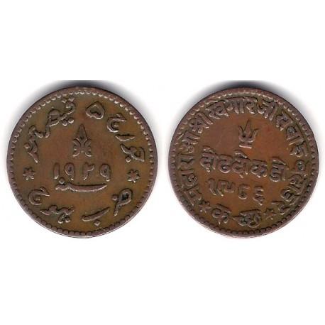 (Y56) India. 1929. 1½ Dokda (EBC)