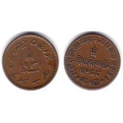 (Y56) India. 1931. 1½ Dokda (EBC)