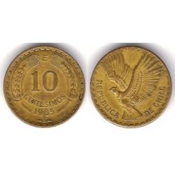 (191) Chile. 1965. 10 Centesimos (MBC)