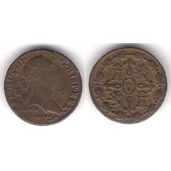 Carlos III. 1775. 4 Maravedi (BC) Ceca de Segovia