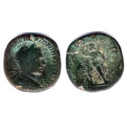 Heliogábalo. 218-222 d.C. Sestercio (BC)