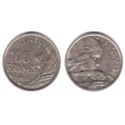 (919.2) Francia. 1955(B). 100 Francs (MBC)