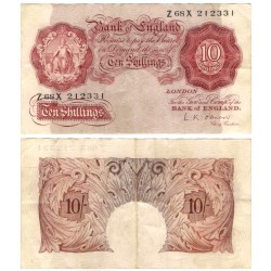 (368c) Gran Bretaña. 1948-60. 10 Shillings (MBC)