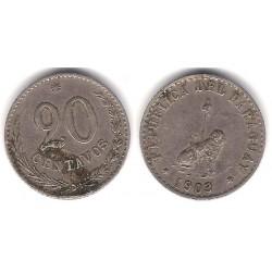 (8) Paraguay. 1903. 20 Centavos (BC)